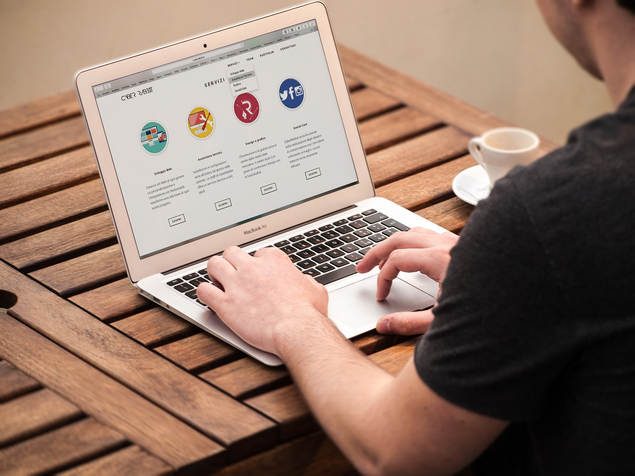 Website design is pattern informed by sensibility.